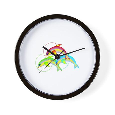 DOLPHIN TRIO Wall Clock