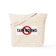 Anti tapeworms Tote Bag