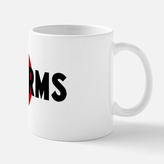 Anti tapeworms Mug