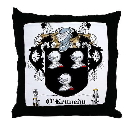 O'Kennedy Family Crest Throw Pillow