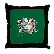 Erin Go Bragh v14 Throw Pillow