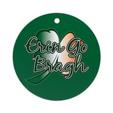 Erin Go Bragh v14 Ornament (Round)