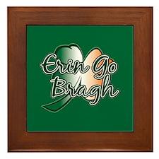 Erin Go Bragh v14 Framed Tile