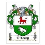 O'Leary Family Crest Small Poster