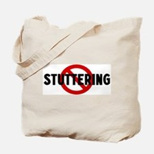 Anti stuttering Tote Bag