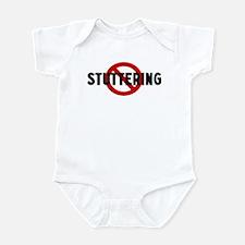 Anti stuttering Infant Bodysuit