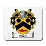 Oliver Family Crest Mousepad