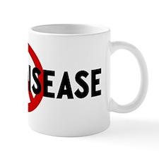 Anti heart disease Mug