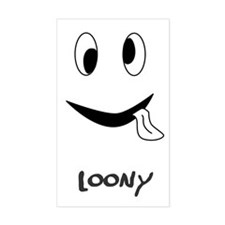 Loony Rectangle Decal