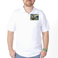 St Francis & Boston Terrier T-Shirt