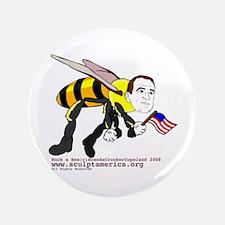 """Huck-a-Bee 3.5"""" Button"""