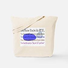 Respiratory Therapy III Tote Bag