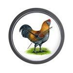 Easter Egg Rooster Wall Clock
