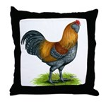 Easter Egg Rooster Throw Pillow
