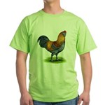 Easter Egg Rooster Green T-Shirt