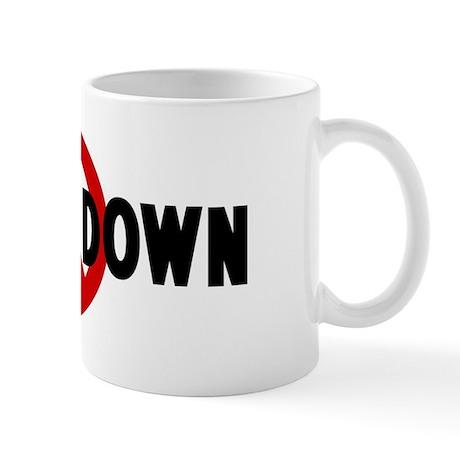 Anti sitting down Mug