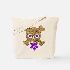 Cow Skull Anti-Valentine Tote Bag