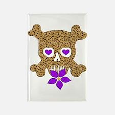 Cow Skull Anti-Valentine Rectangle Magnet (10 pack