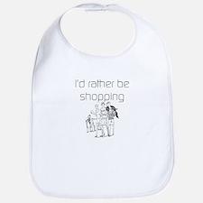 I'd Rather Be Shopping Bib