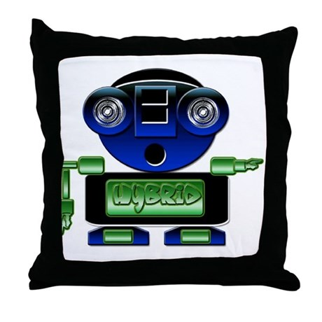 Hybrid Throw Pillow