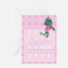 Girl's Leap Day Birthday Card