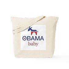 Obama Baby Tote Bag