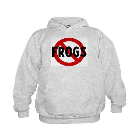 Anti frogs Kids Hoodie