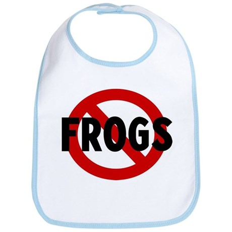 Anti frogs Bib