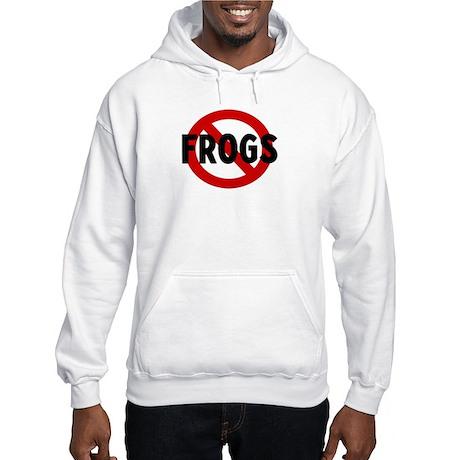 Anti frogs Hooded Sweatshirt