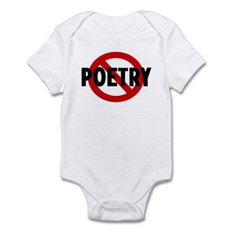 Anti poetry Infant Bodysuit