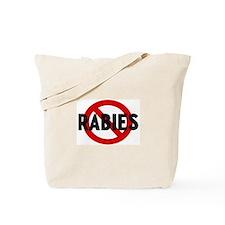 Anti rabies Tote Bag