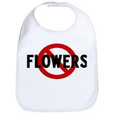Anti flowers Bib