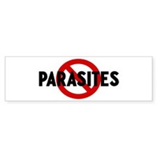 Anti parasites Bumper Bumper Sticker
