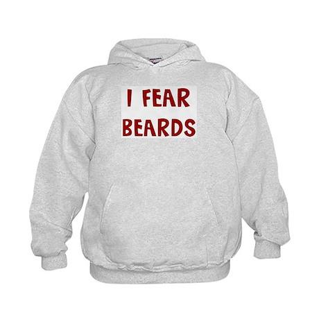 I Fear BEARDS Kids Hoodie