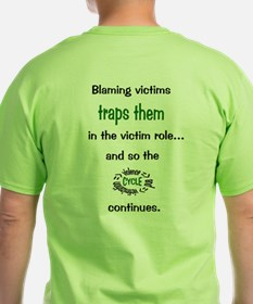 Stop Blaming Victims T-Shirt