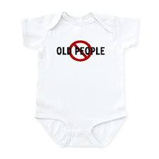 Anti old people Infant Bodysuit