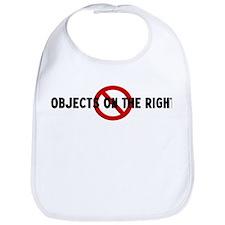 Anti objects on the right Bib