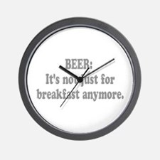 Beer It's Not Just... Wall Clock