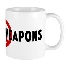 Anti nuclear weapons Mug