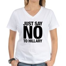 Say No to Hillary Shirt
