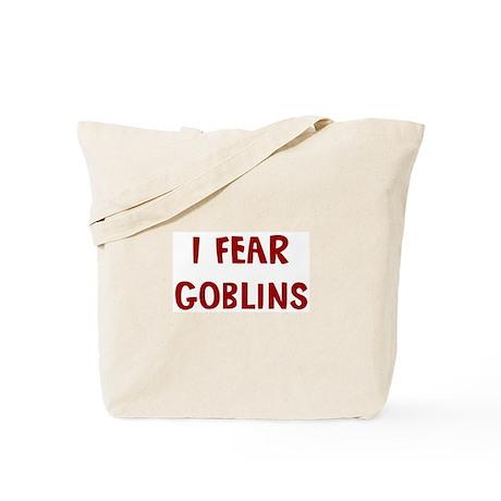 I Fear GOBLINS Tote Bag