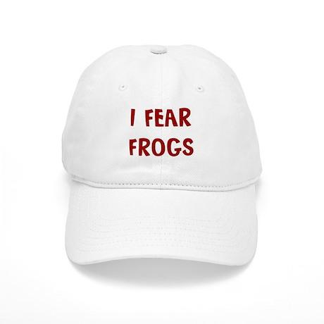 I Fear FROGS Cap