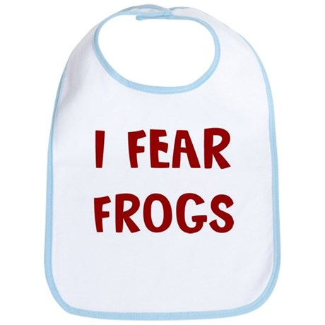 I Fear FROGS Bib
