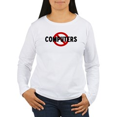 Anti computers T-Shirt