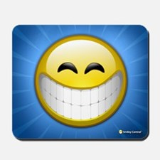 Big Smile Smiley Mousepad