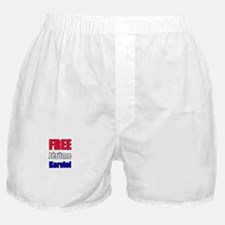 """Free Jérôme Kerviel"" Boxer Shorts"