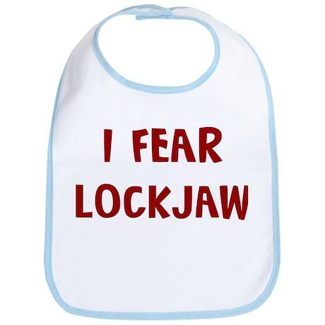 I Fear LOCKJAW Bib