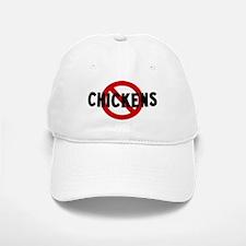 Anti chickens Baseball Baseball Cap