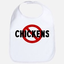 Anti chickens Bib