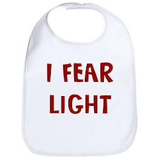 I Fear LIGHT Bib
